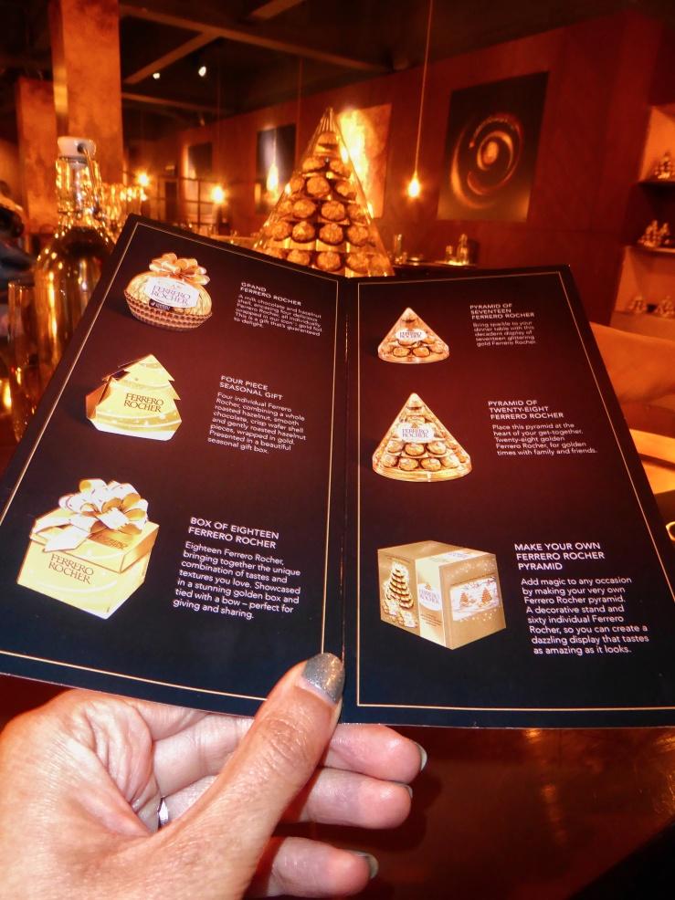 Ferrero Rocher chocolate gift boxes