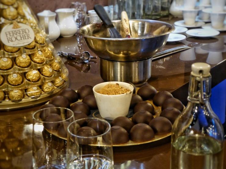 Chocolate Pop Up Desserts London