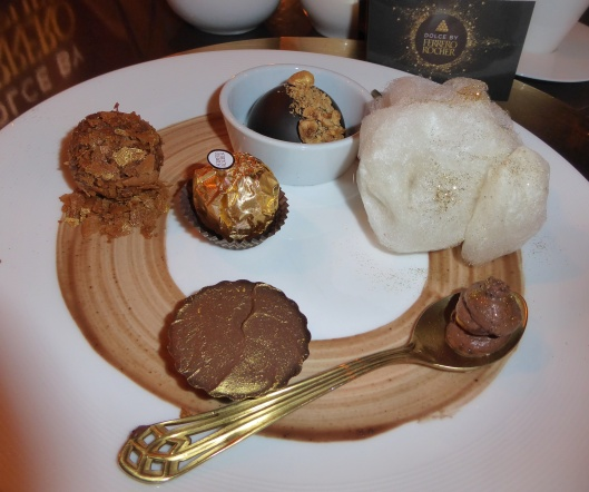 Ferrero Rocher pop up cafe desserts