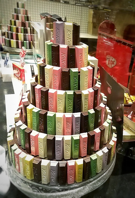 Kit Kat Tower Cake
