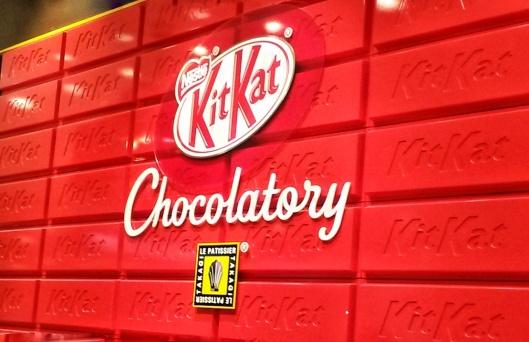 Kit Kat Chocolatory Tokyo Japan