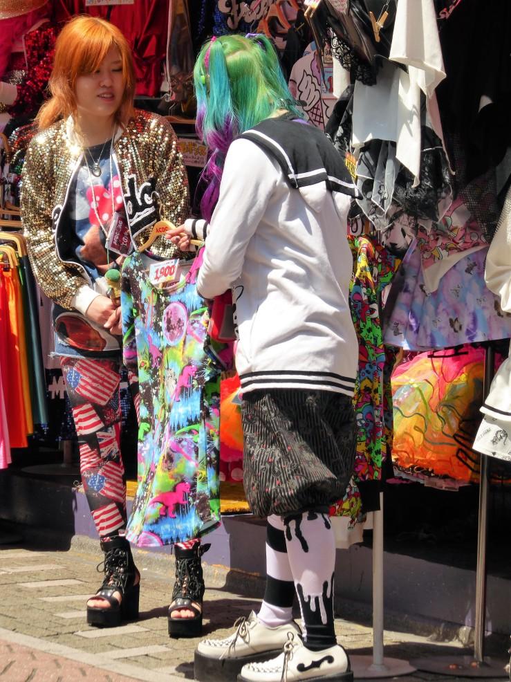 Harajuku style Takeshita Dori