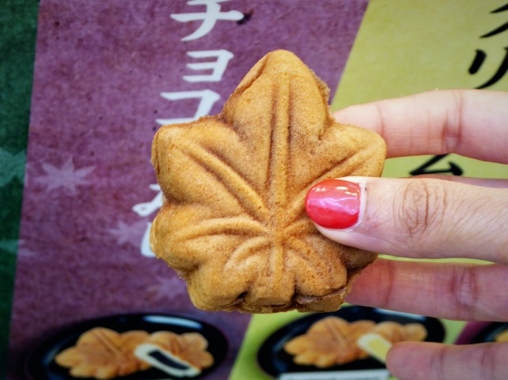 Momiji Manjyu Cake Miyajima island