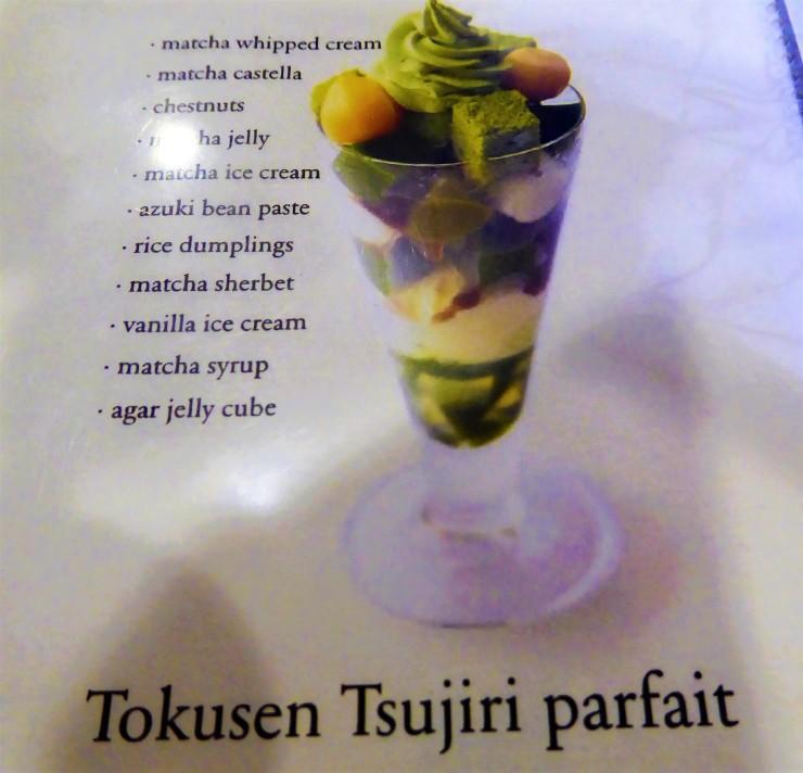 Matcha desserts Kyoto