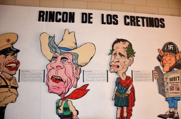 political cartoons Cuba