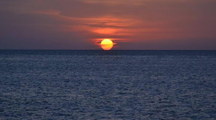 sunset Malecon Havana