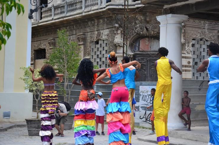 Havana street parade