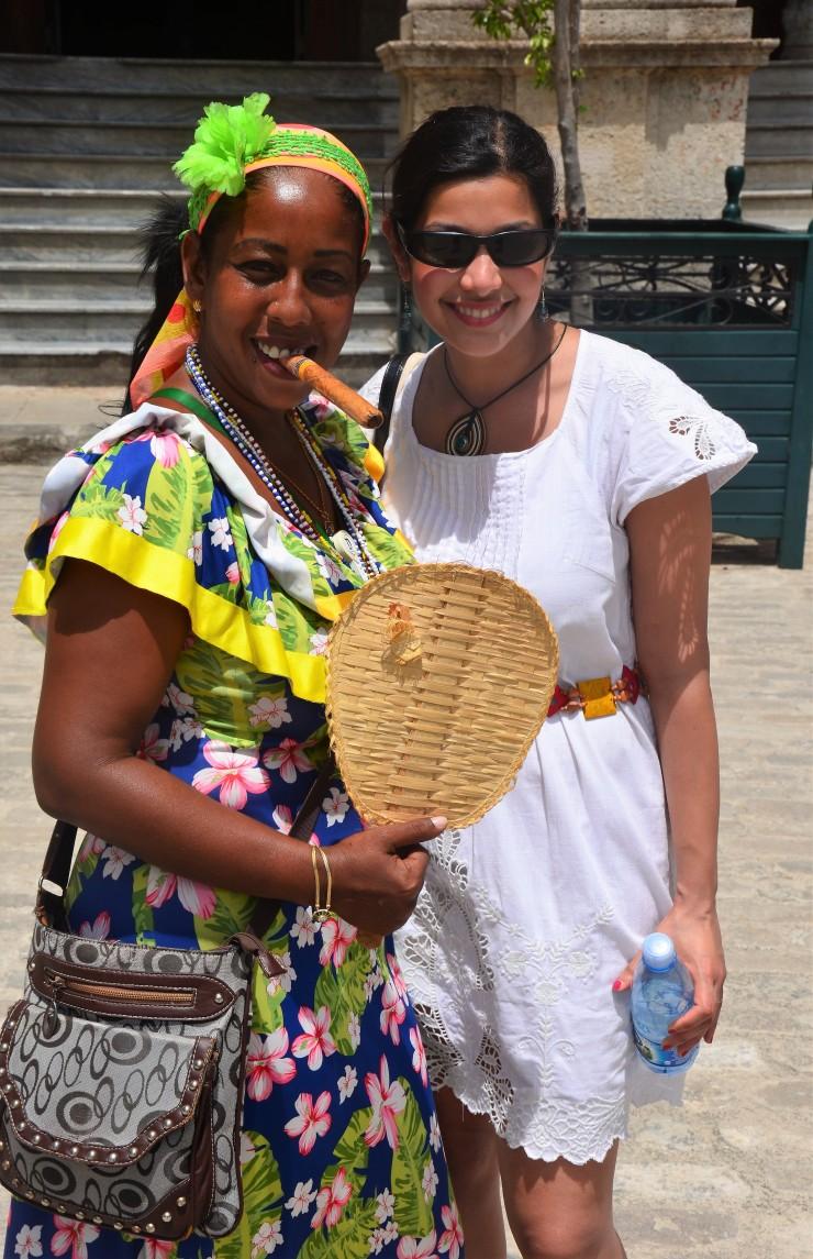 Cuban woman Havana old town