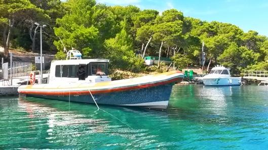 Palmizana water taxi