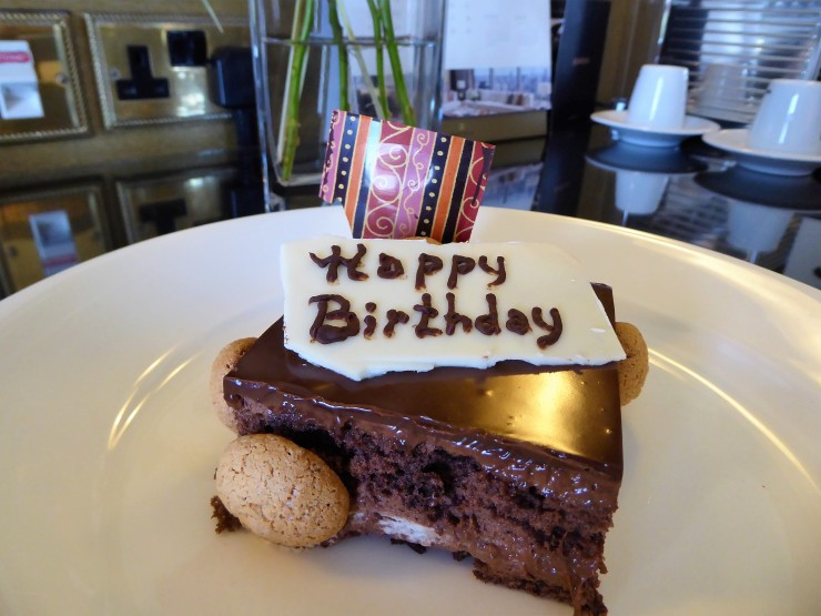 Shangri la birthday surprise