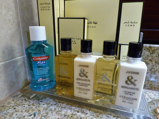 toiletries Shangri La Oman