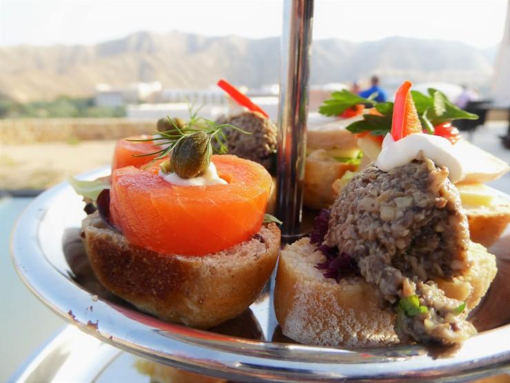 afternoon tea Shangri La Al Husn