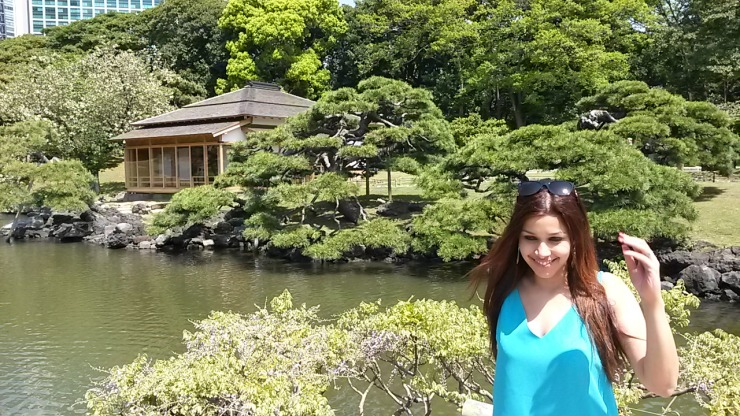Hamarikyu Gardens Tokyo travel blog