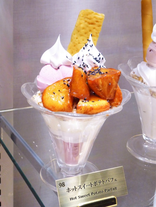 sweet potato parfait Japan