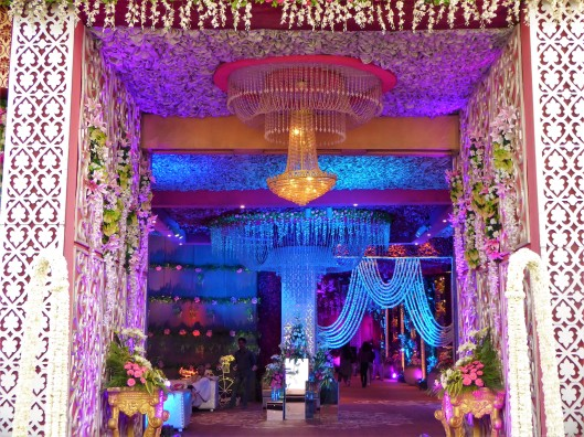 Purple theme Indian Wedding Inspiration