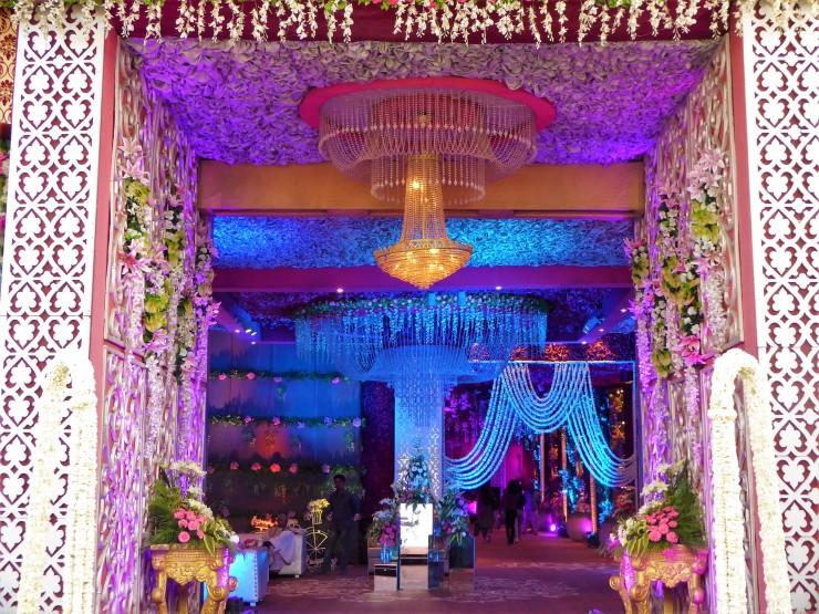 Purple theme Indian Wedding Inspiration