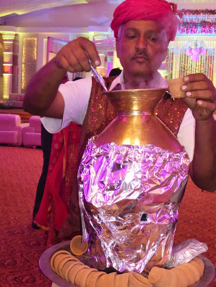 Indian tea man chaiwala