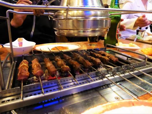Korean Chinese Barbeque restaurant