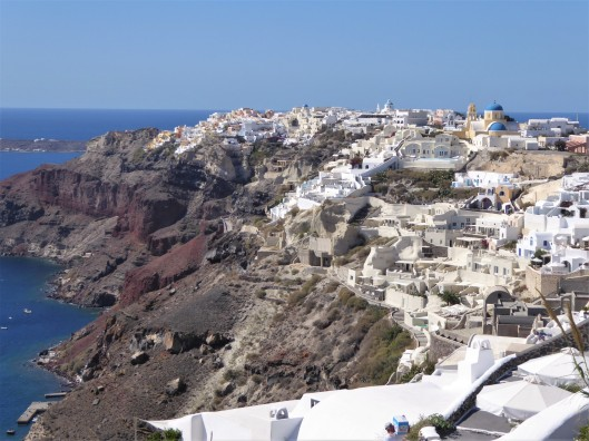 beautiful views Santorini