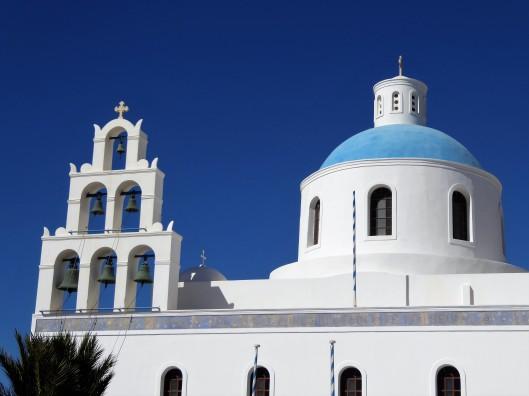 Fira blue churches