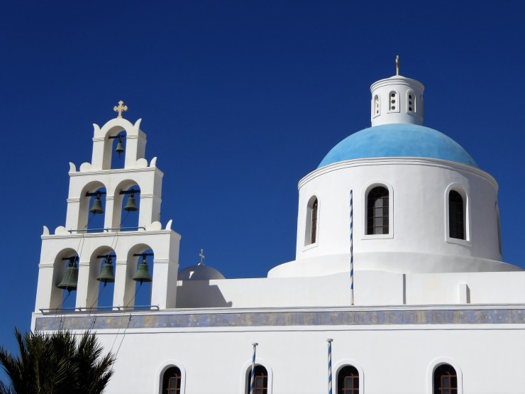 Fira blue churches