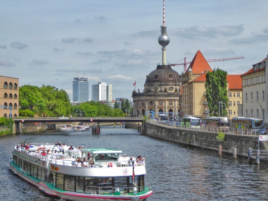 Berlin riverside view