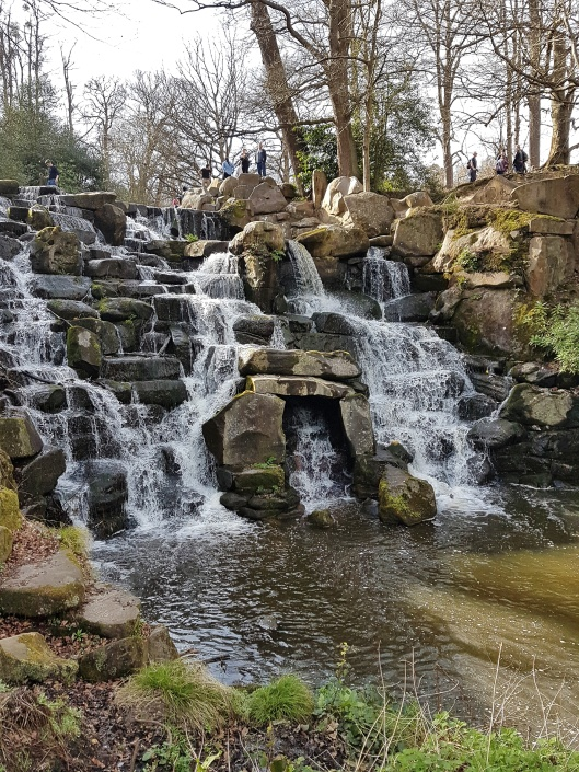 Cascade Waterfall Virginia Water