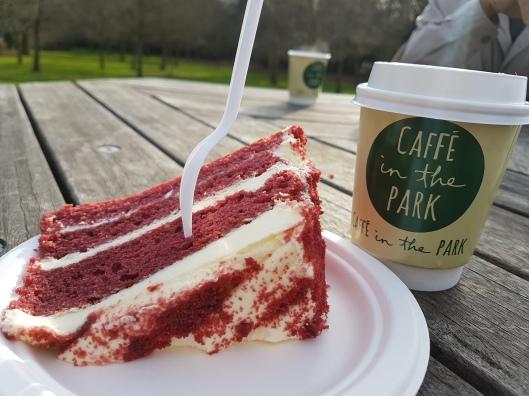 red velvet cake Surrey