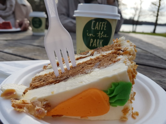 cafe cake Virginia Water