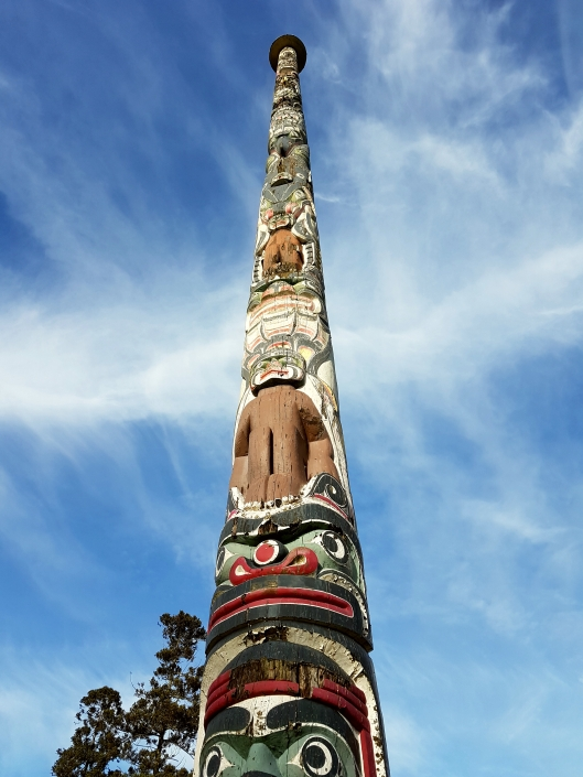 Surrey Totem Pole monuments