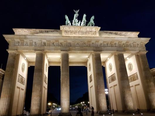 Bandenburg Gate Berlin at night