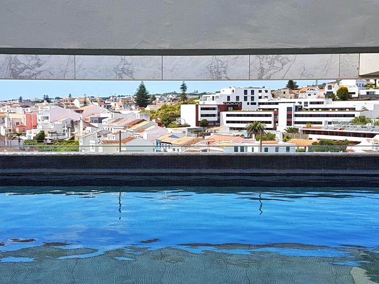 Azor hotel rooftop pool