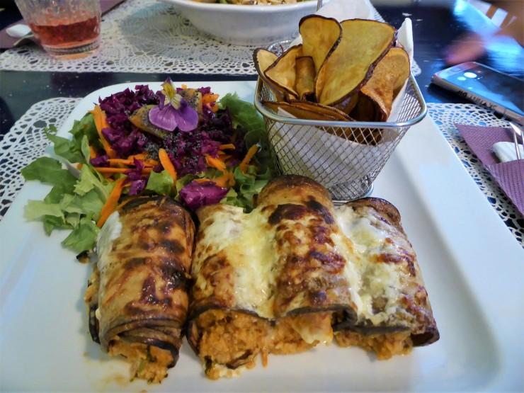 vegetarian vegan restaurants Sao Miguel
