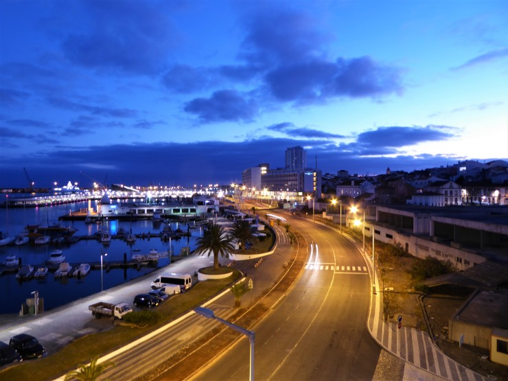 Sao Miguel at night