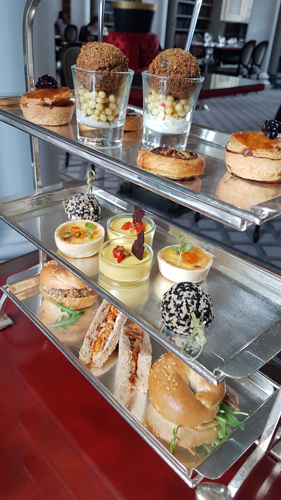 afternoon teas Edinburgh