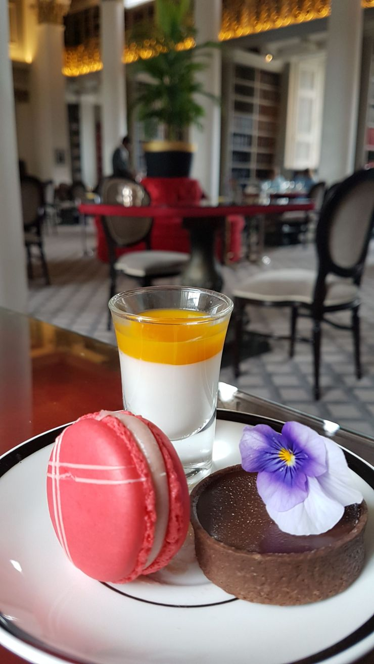 best afternoon tea Edinburgh