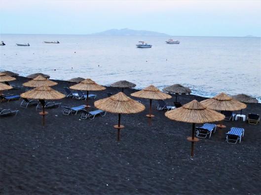 Kamari Black Beach