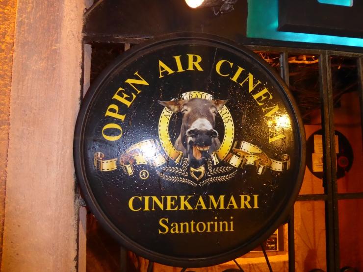 Cinekamari Cinema Santorini