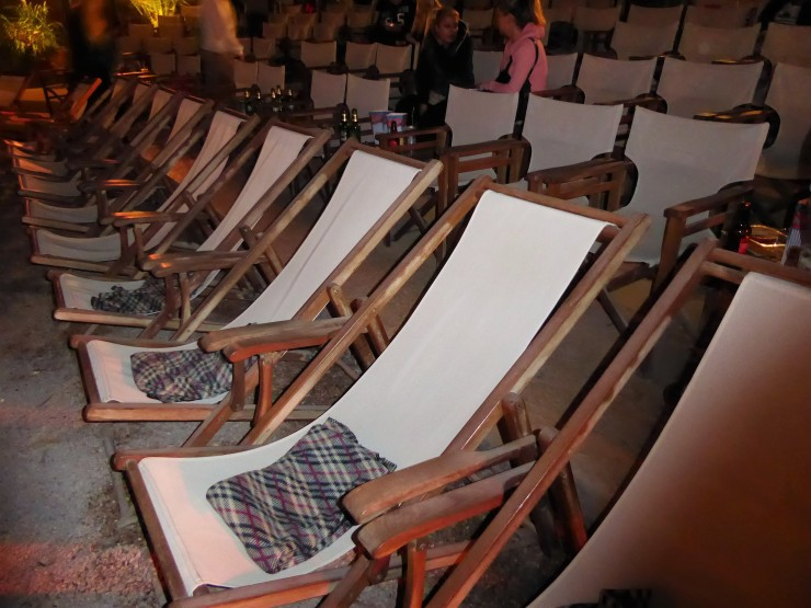 cinemas with blankets