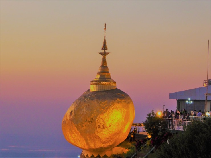 Golden Rock Pagoda Myanmar