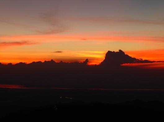 sunset at Golden Rock
