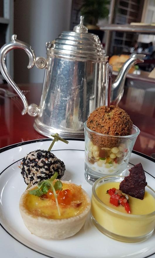 afternoon tea savoury food