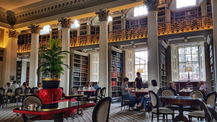 Colonnades Signet Library Afternoon Tea