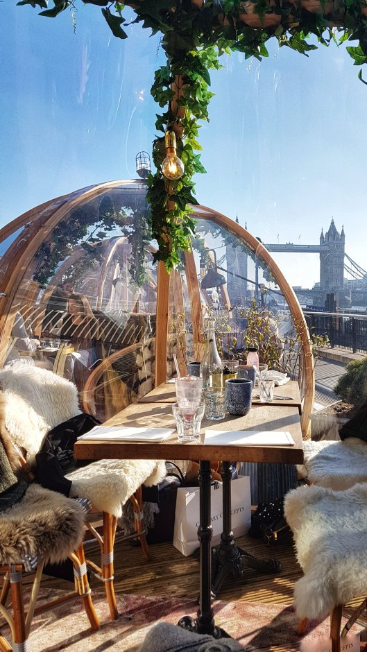 quirky winter pop ups London