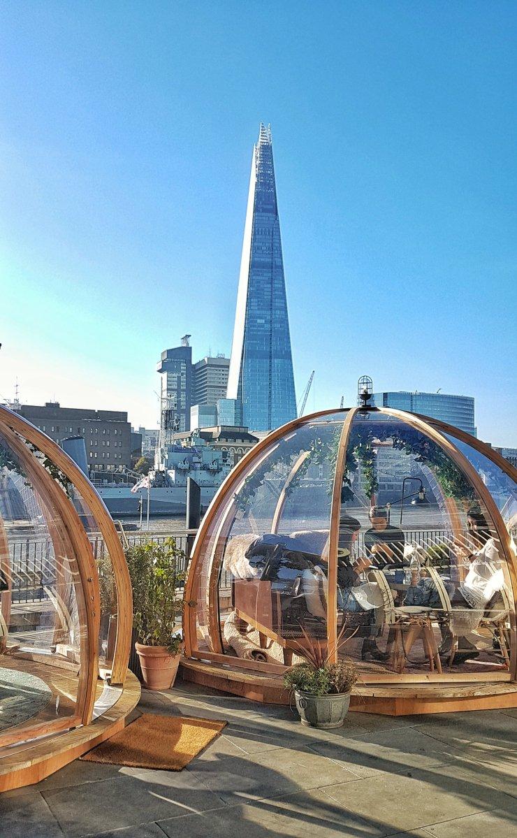 London igloo restaurant