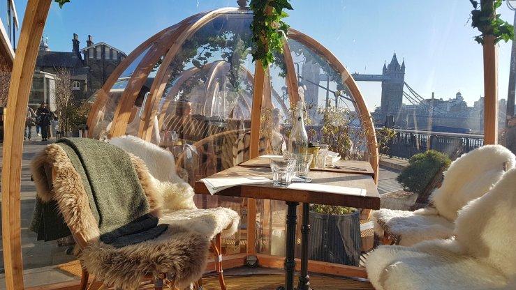 pop up restaurants London