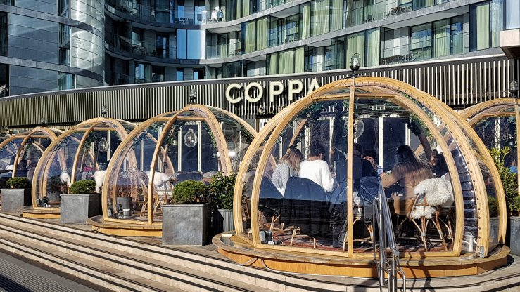 Coppa Club restaurant blog review
