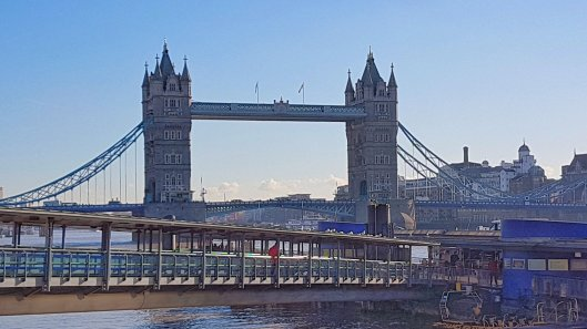 Tower Bridge in sunshine