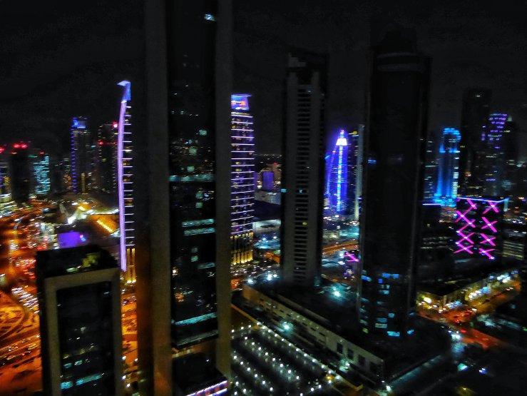 Intercontinenta Doha City Hotel views