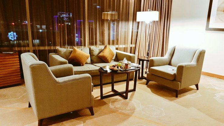 Travel blog review Intercontinental Doha City
